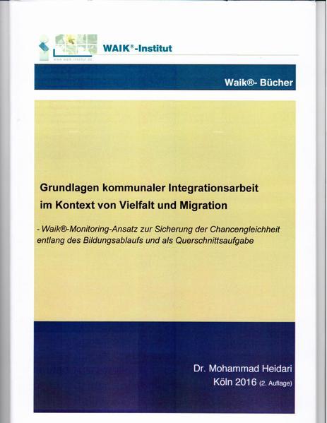 Grundlagen kommunaler Integrationsarbeit im Kontext von Vielfalt und Migration - Coverbild