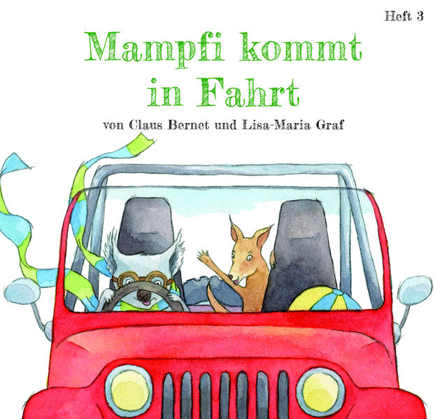 Mampfi kommt in Fahrt - Coverbild