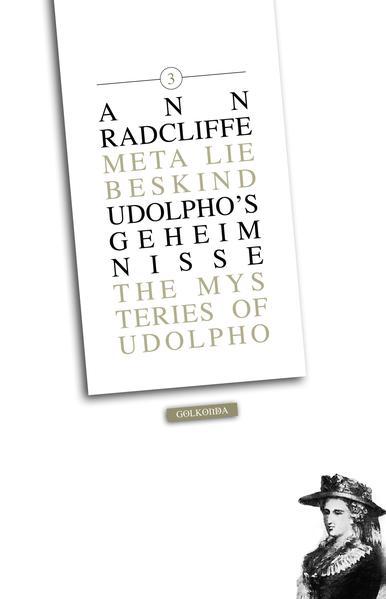 Udolpho's Geheimnisse 3 - Coverbild