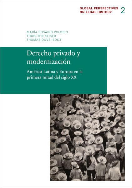 Derecho privado y modernización - Coverbild