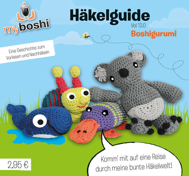 myboshi Häkelguide Vol. 12.0 - Coverbild