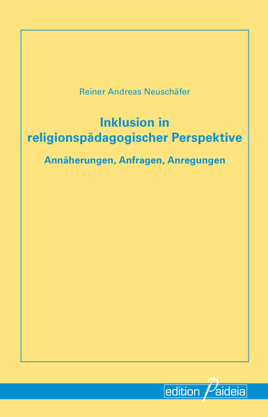 Inklusion in religionspädagogischer Perspektive - Coverbild