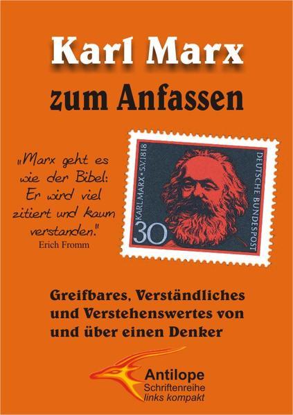 Karl Marx zum Anfassen - Coverbild