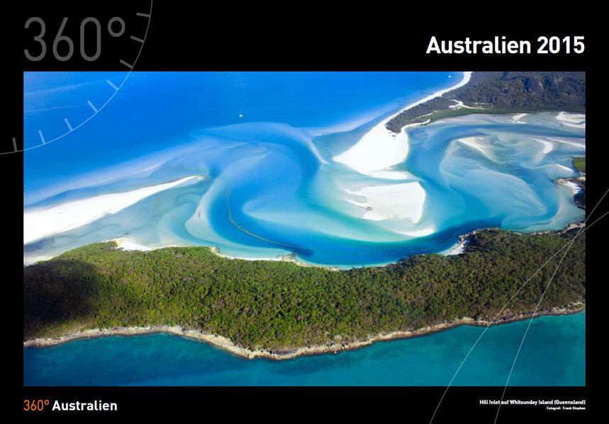 360° Australien 2015 - Coverbild