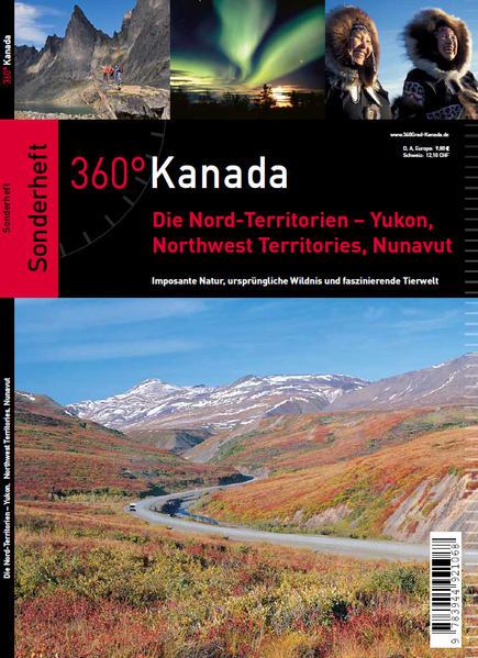 360° Kanada – Sonderheft Norden - Coverbild