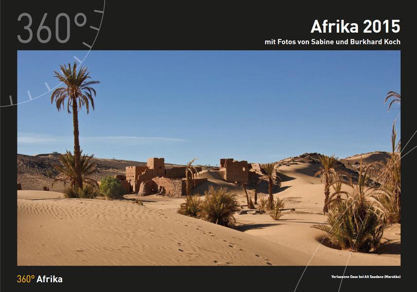 360° Afrika 2015 - Coverbild