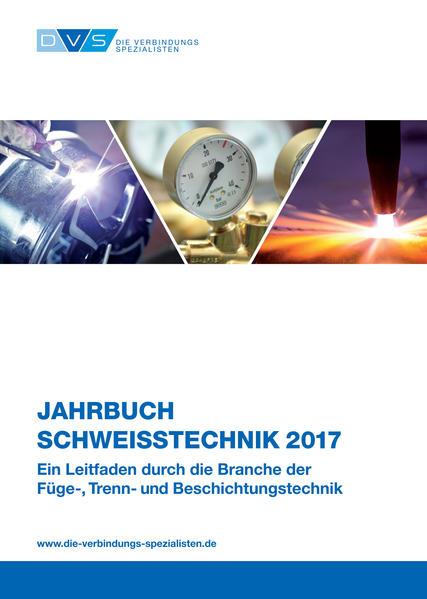 Jahrbuch Schweißtechnik 2017 - Coverbild