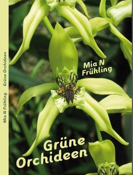 Grüne Orchideen - Coverbild