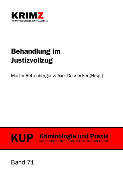 Behandlung im Justizvollzug - Coverbild