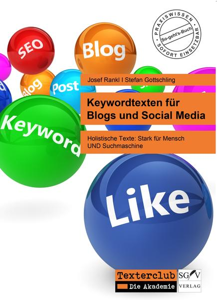Keywordtexten für Blogs und Social Media - Coverbild