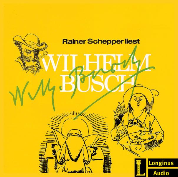 Rainer Schepper liest Wilhelm Busch - Coverbild