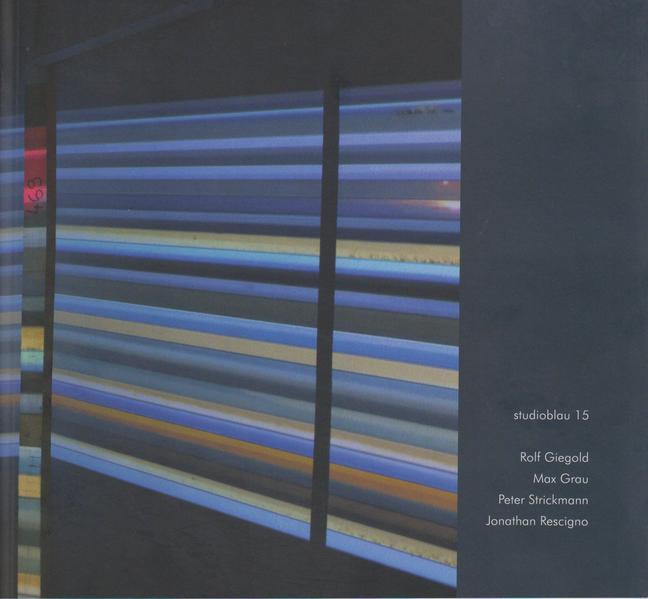 studioblau 15 - Coverbild