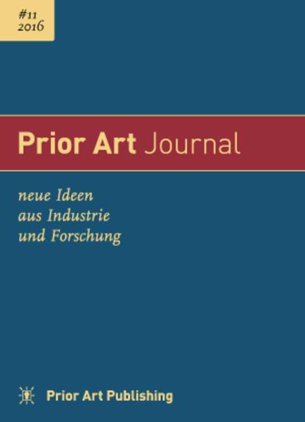 Prior Art Journal 2016 #11 - Coverbild