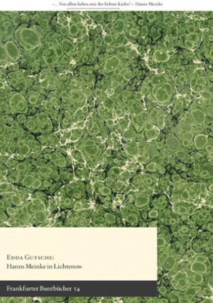 Hanns Meinke in Lichtenow - Coverbild