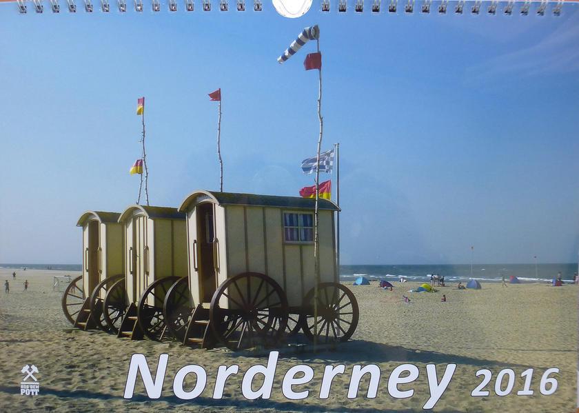 Kalender Norderney 2016 - Coverbild