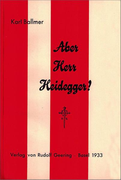 Aber Herr Heidegger! - Coverbild