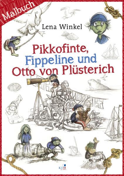 Pikkofinte, Fippeline und Otto von Plüsterich - Coverbild