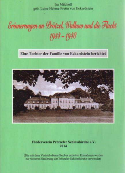 Erinnerungen an Prötzel, Wulkow und die Flucht 1934-1948 - Coverbild
