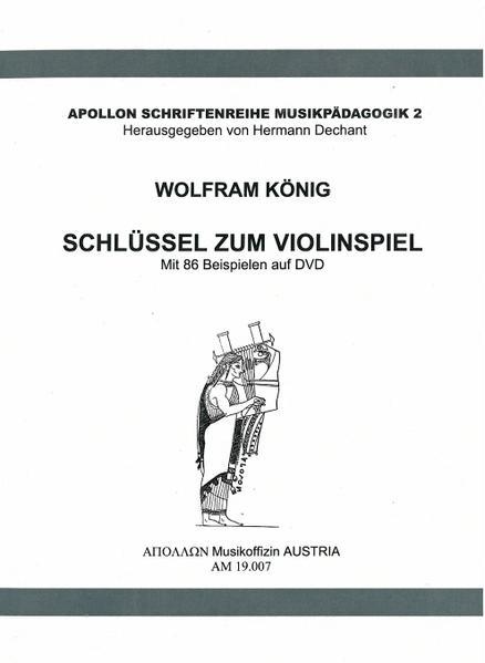 Schlüssel zum Violinspiel - Coverbild