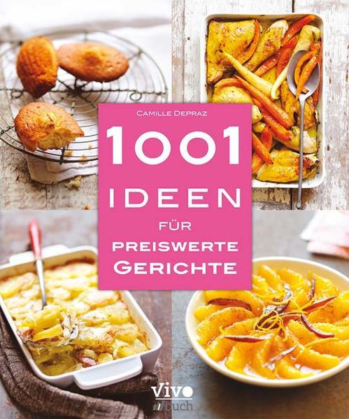 1001 Ideen für preiswerte Gerichte - Coverbild