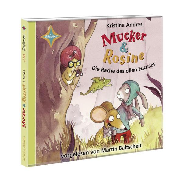 Mucker & Rosine Die Rache des ollen Fuchses - Coverbild