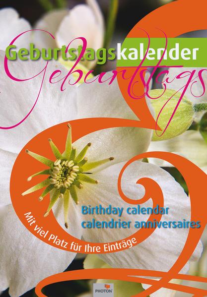 GEBURTSTAGSKALENDER BLUMEN - Coverbild