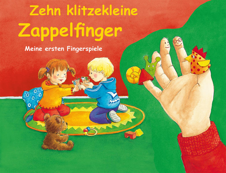 Zehn kleine Zappelfinger - Coverbild