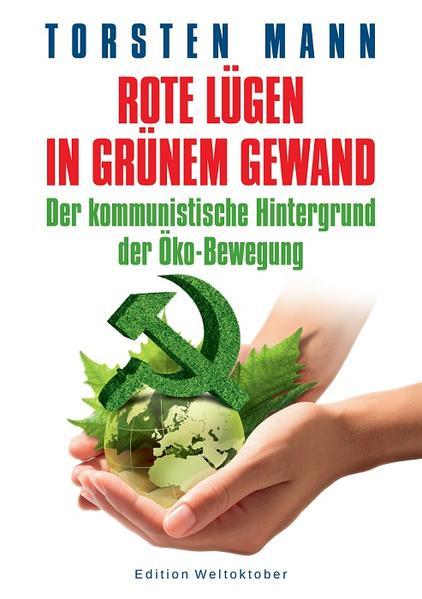 Rote Lügen in grünem Gewand - Coverbild