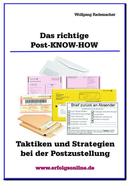 Das richtige Post-Know-How - Coverbild