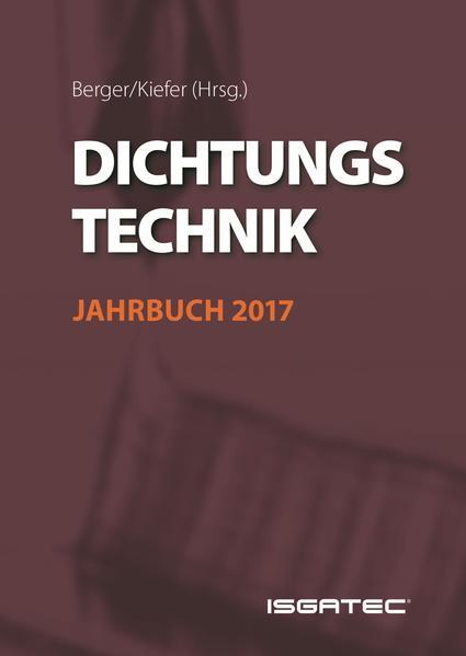 Dichtungstechnik Jahrbuch 2017 - Coverbild