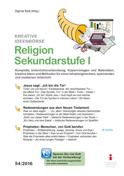 54. Religion Sekundarstufe I - Coverbild