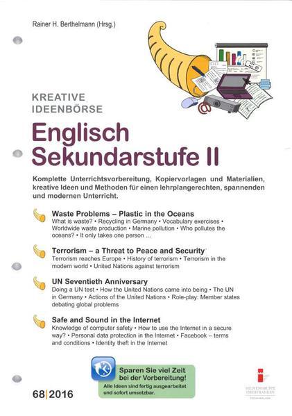 68. Englisch Sekundarstufe II - Coverbild