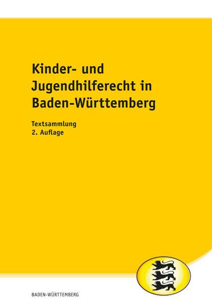Kinder- und Jugendhilferecht in Baden-Württemberg  - Coverbild