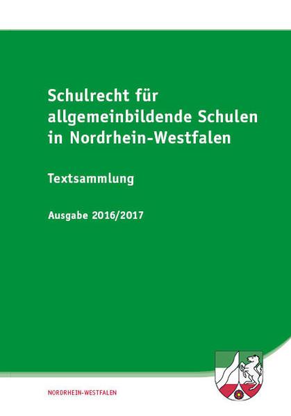 Schulrecht für allgemeinbildende Schulen in Nordrhein-Westfalen  - Coverbild