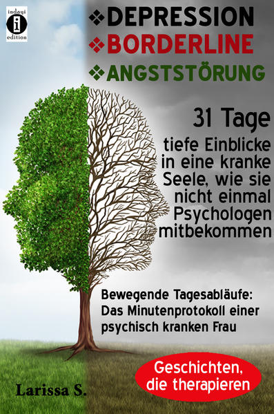 DEPRESSION – BORDERLINE – ANGSTSTÖRUNG - Coverbild