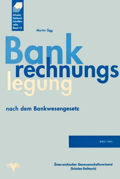 Bankrechnungslegung nach dem Bankwesengesetz - Coverbild