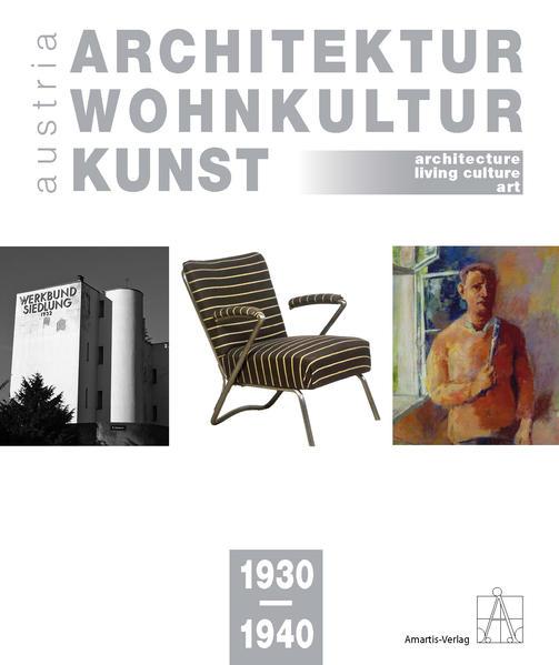 Architektur-Wohnkultur-Kunst austria 1930-1940 - Coverbild