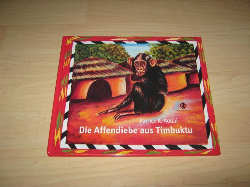 Die Affendiebe aus Timbuktu - Coverbild
