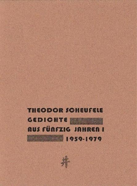Gedichte aus fünzig Jahren - Coverbild