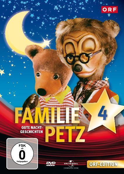 Gute Nacht Geschichten 4. Familie Petz - Coverbild