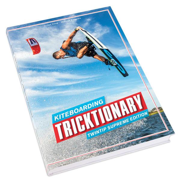 Kiteboarding Tricktionary - Coverbild