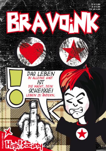 Jugendcomic BravoINK® - Coverbild
