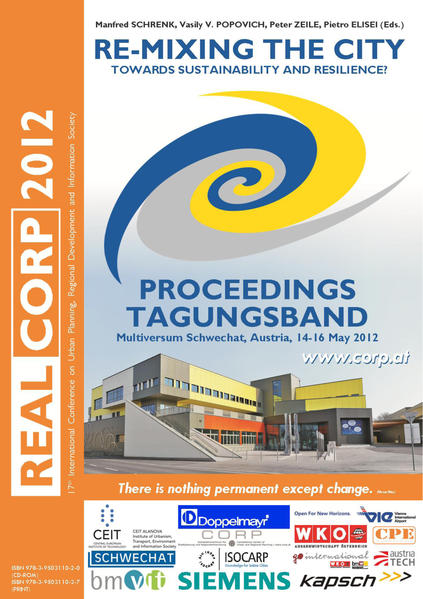 REAL CORP 2012. Re-Mixing the City. Towards Sustainability and Resilience? - Coverbild
