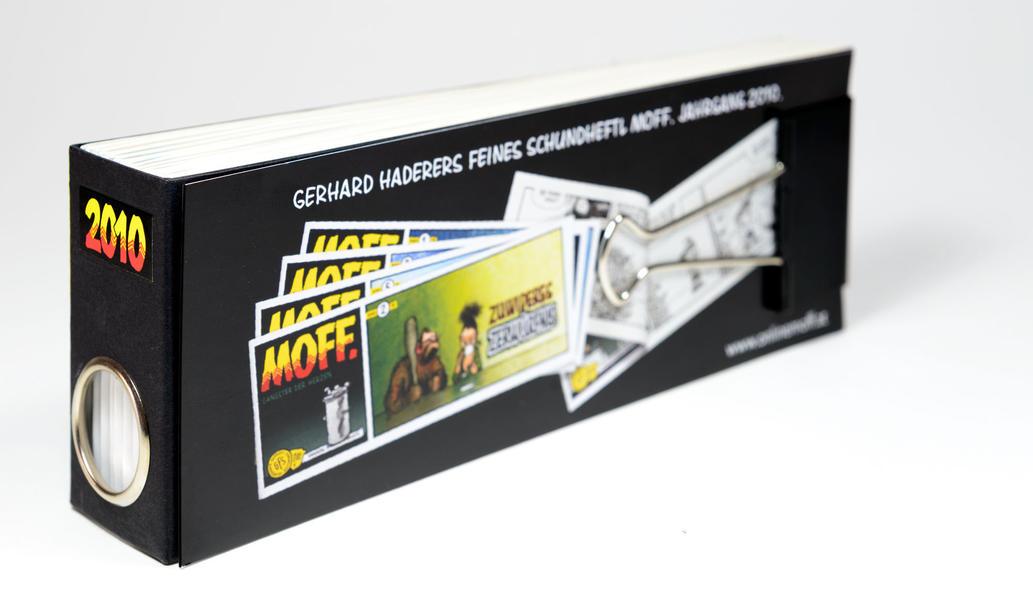 MOFF. Jahressammlung 2010 - Coverbild