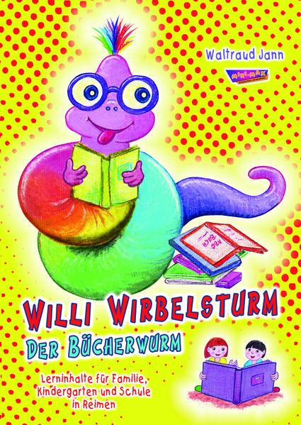 Willi Wirbelsturm - Der Bücherwurm - Coverbild
