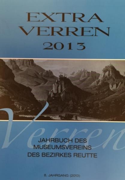 Extra Verren 2013 - Coverbild