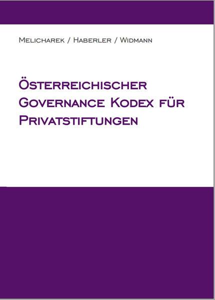 Österreichischer Governance Kodex für Privatstiftungen - Coverbild