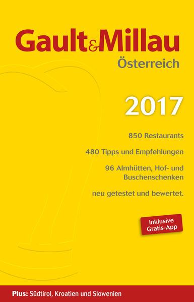 Gault & Millau Österreich 2017 - Coverbild