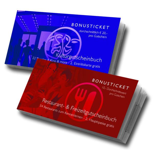 Kombiangebot Restaurant + Kulturgutscheinbuch - Coverbild