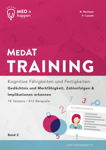 MEDithappen - MedAT Training, Band 2 - Coverbild